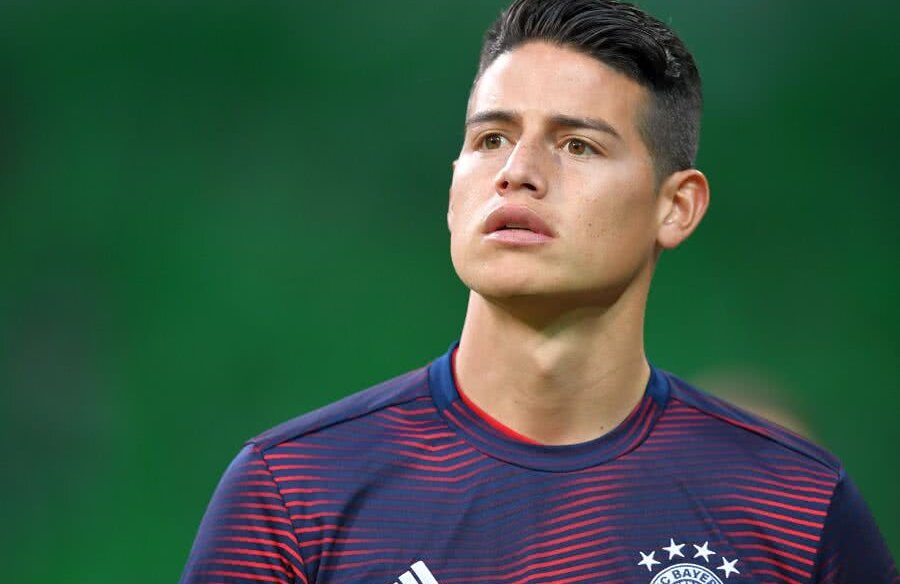 James Rodriguez // FOTO: Guliver/GettyImages