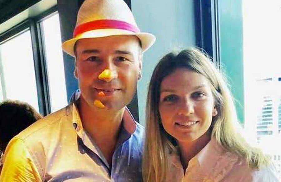 Lucian Bute și Simona Halep