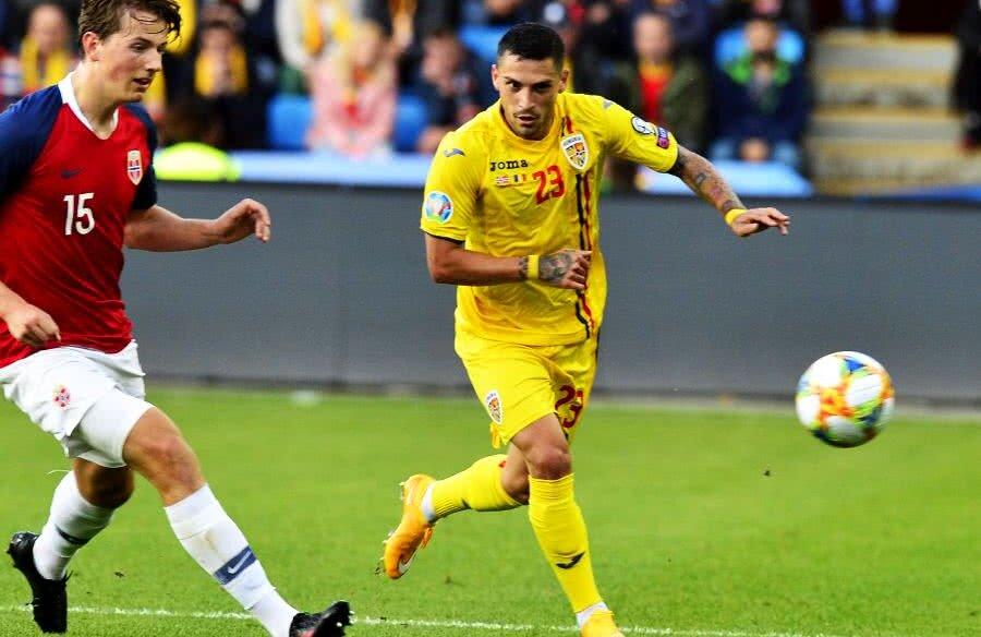 Nicolae Stanciu a avut puține realizări în meciurile cu Norvegia, 2-2, și Malta, 4-0 // FOTO: Cristi Preda