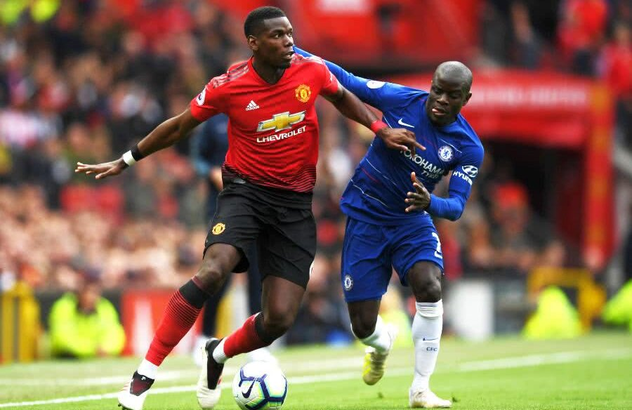 Paul Pogba // FOTO: Guliver/GettyImages