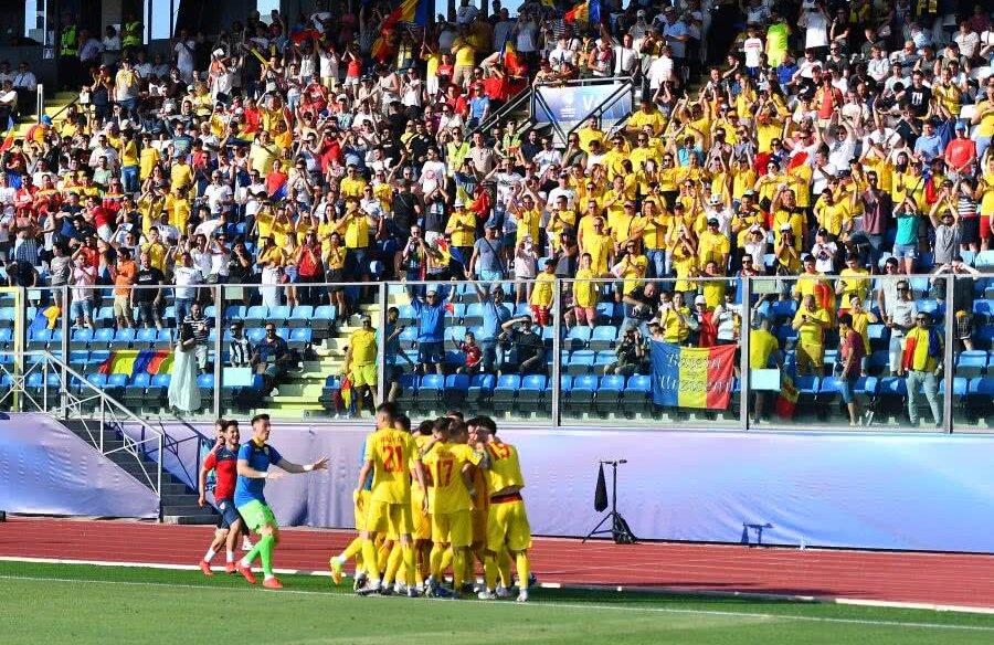 Bucuria golului, în meciul România U21 - Croația U21