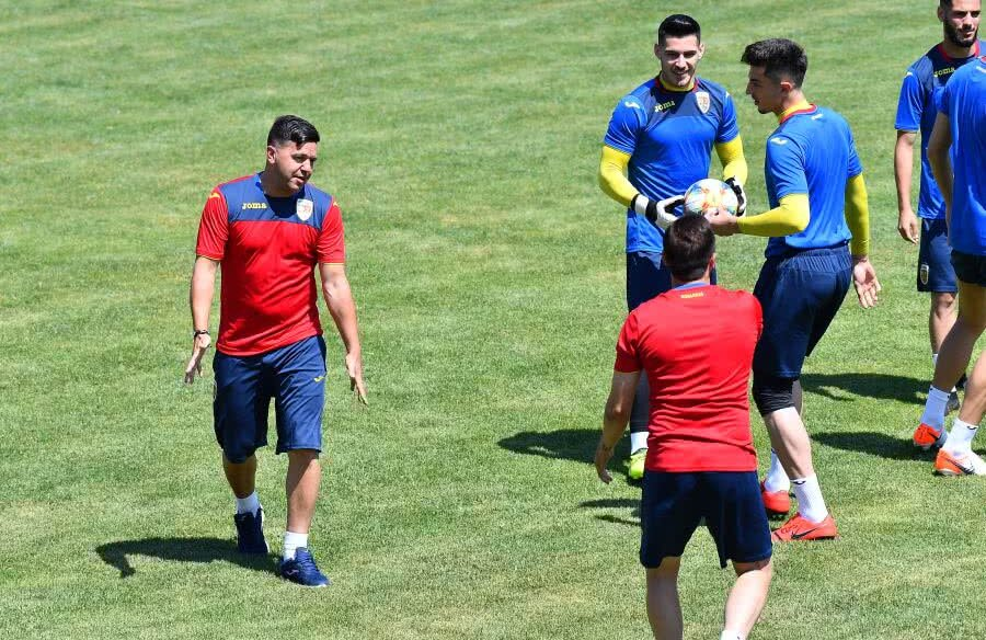 Antrenament România U21