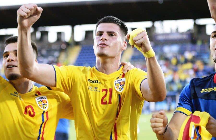 Tudor Băluță ROMÂNIA U21