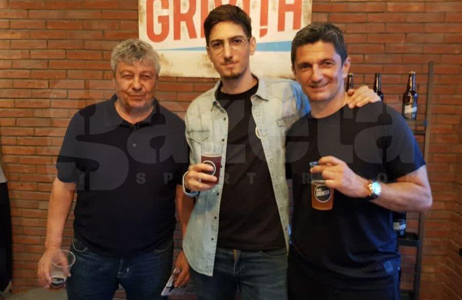 Mircea Lucescu, Matei Lucescu și Răzvan Lucescu // Foto: Eduard Apostol
