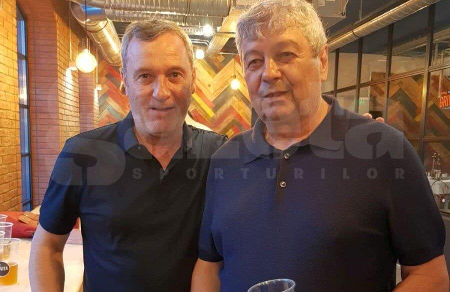 Mircea Rednic și Mircea Lucescu // Foto: Eduard Apostol