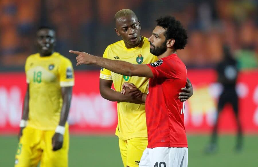 Mohamed Salah în Egipt - Zimbabwe // FOTO: Reuters