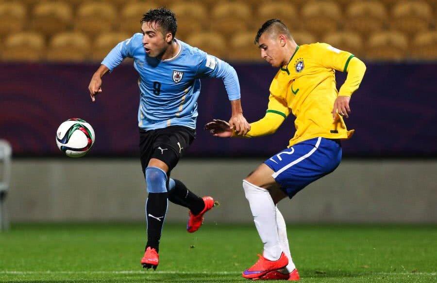 FOTO: GettyImages // Baez, 24 de ani, a fost convocat de 21 de ori și la selecționata U20 a Uruguayului, unde a marcat de două ori