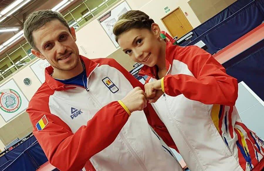 Ovidiu Ionescu și Bernadette Szocs speră să obțină calificarea la Tokyo la Europenele din luna septembrie // FOTO COSR