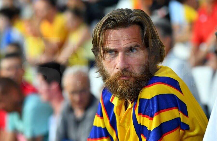 Alexandru Tudor a fost prezent la partida dintre Franța U21 și România U21, scor 0-0, de la EURO 2019 // Foto: Raed Krishan