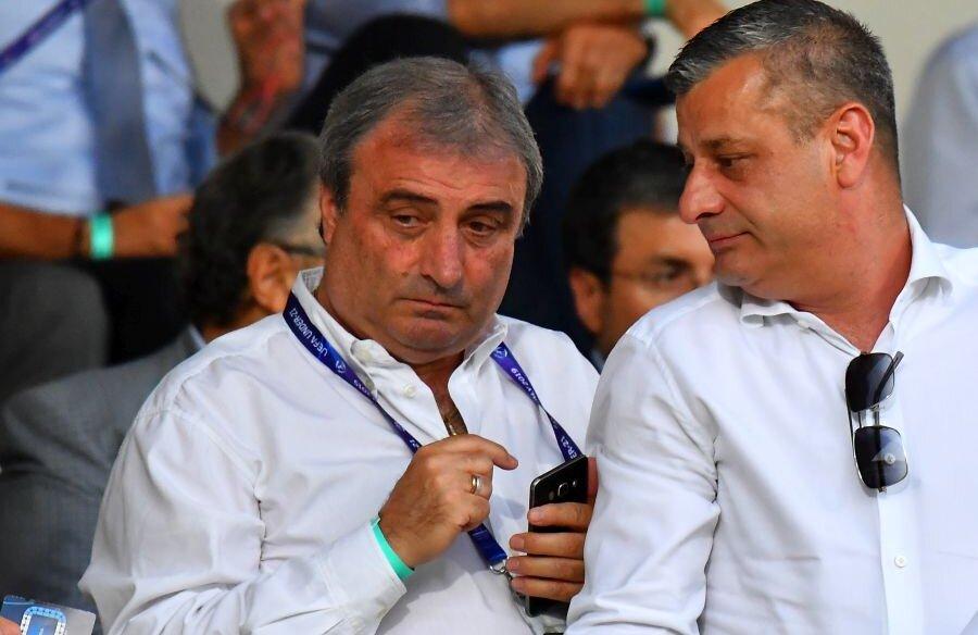 Mihai Stoichiță a fost în tribune la partida Franța - România // FOTO: Raed Krishan