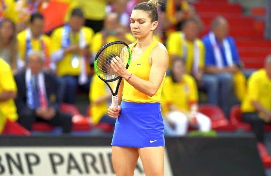 Simona Halep e liderul naționalei de Fed Cup // FOTO: Raed Krishan