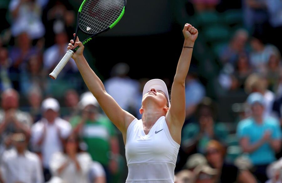 Simona Halep // FOTO: Guliver/Getty Images