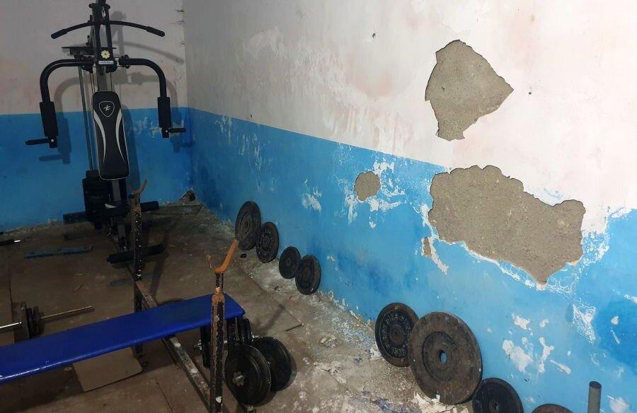Imaginile din sala în care se antrenează sportivii de la CSM Suceava // foto: Sindicatul Național de Sport și Tineret