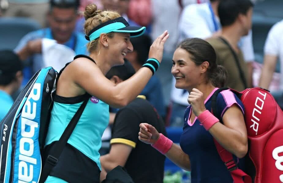 Irina Begu și Monica Niculescu