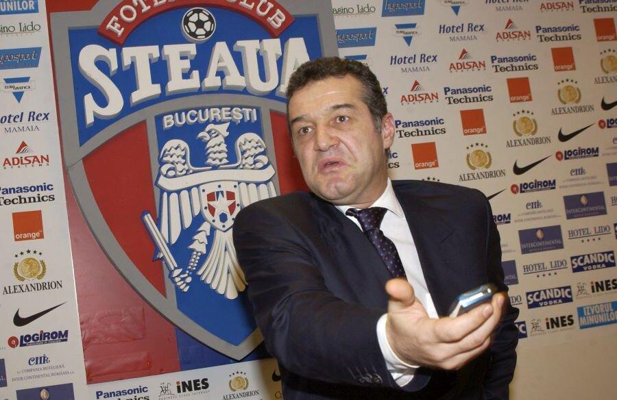 Gigi Becali, la începuturile aventurii ca patron al unei echipe de fotbal