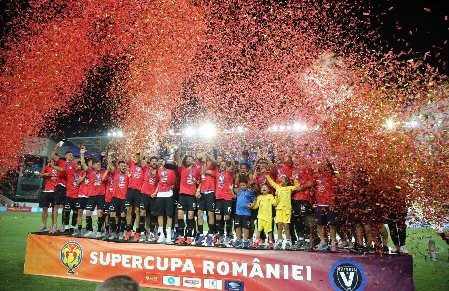 CFR Cluj - Viitorul 0-1 // Supercupa României