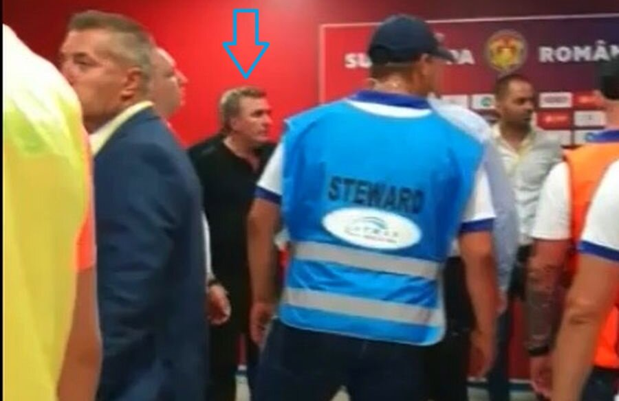 Scandalul în care a fost implicat Gică Hagi //Captură TV Telekom Sport