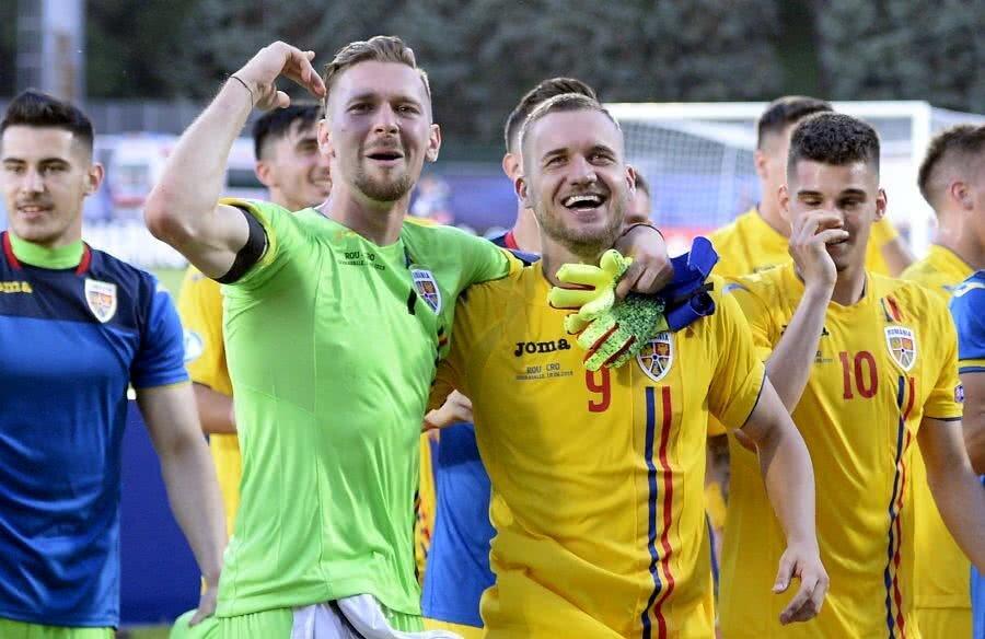 România U21 // Ionuț Andrei Radu și George Pușcaș