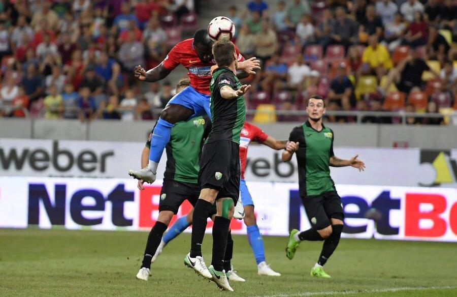 FCSB a ratat grupele Europa League în sezonul trecut, dar a depășit ușor primul tur în care a evoluat, 6-0 la