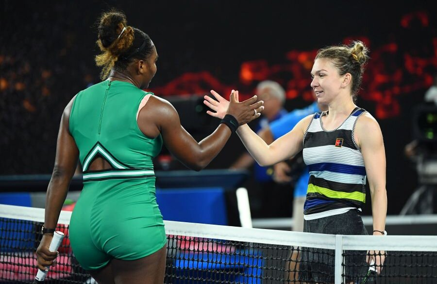 Simona Halep - Serena Williams // foto: Guliver/Getty Images