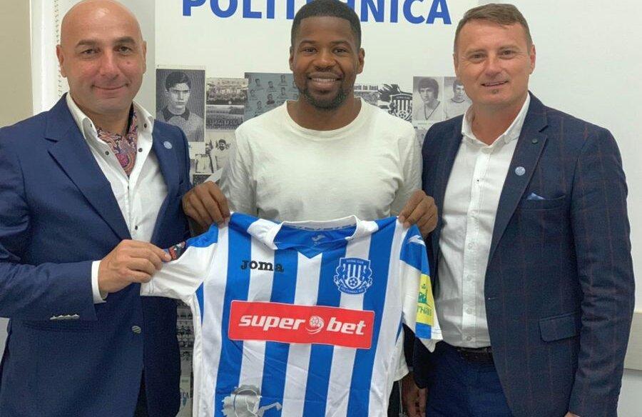 Heleșteanu, Breeveld și Adrian Ambrosie (de la stânga la dreapta) FOTO: Facebook @Poli Iași