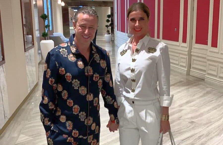 Laurențiu Reghecampf și Anamaria Prodan