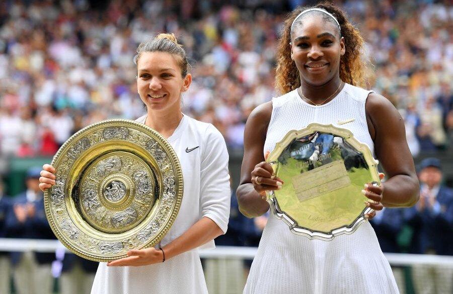 Simona Halep și Serena Williams // FOTO: Raed Krishan