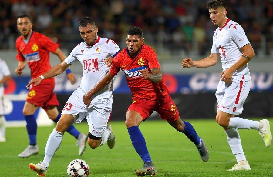 FCSB a învins-o cu 2-0 în tur pe Milsami Orhei // foto: Raed Krishan (Gazeta Sporturilor)