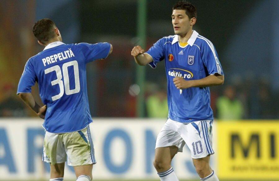 Florin Costea, în perioada în care  juca la FC U Craiova // foto: Arhivă Gazeta Sporturilor