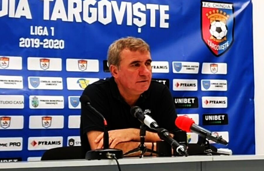 Gheorghe Hagi, la conferința de presă