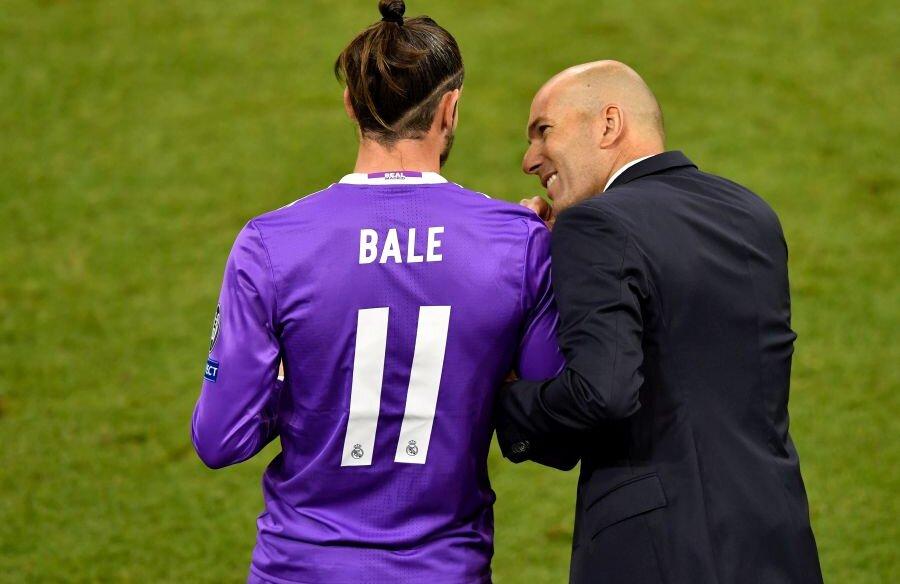 Vremurile în care Zinedine Zidane și Gareth Bale aveau o relație solidă au apus // foto: Guliver/Getty Images