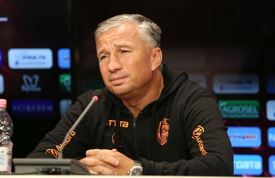 Dan Petrescu, la conferința de presă