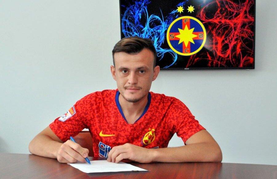 Andrei Marc a fost prezentat oficial la FCSB