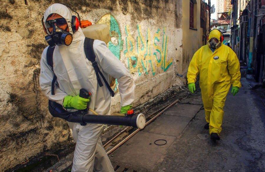 Lupta împotriva coronavirusului e una contracronometru. foto: Guliver/Getty Images