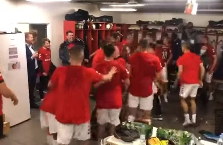 Vejle a promovat în prima ligă din Danemarca