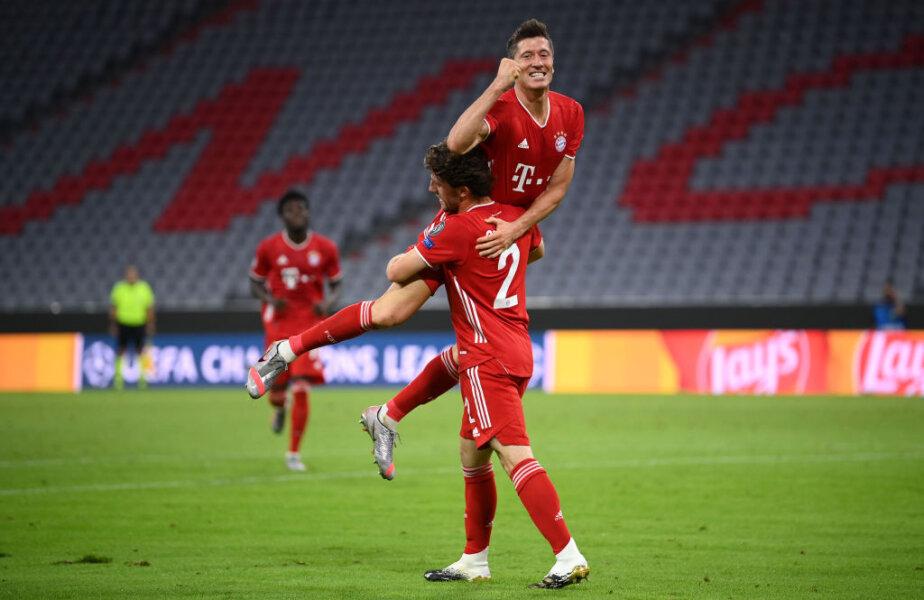 Cel mai bun #9 din lume! Lewandowski a ajuns la 53 de goluri în 44 de meciuri la Bayern, în acest sezon FOTO Guliver / Getty Images