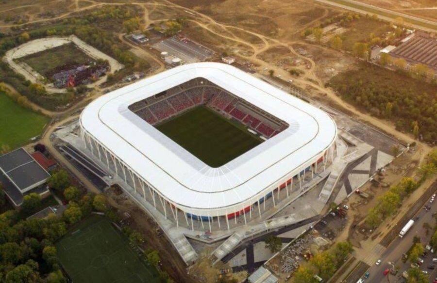 STEAUA AERIAL VIEW. Gazeta a obținut imagini spectaculoase realizate cu drona. La final de octombrie 2020, lucrările de la noul stadion din Ghencea sunt aproape finalizate. Arena modernă de aproape 100 de milioane de euro și 31.254 de locuri e gata de inaugurarea programată în primăvara lui 2021.