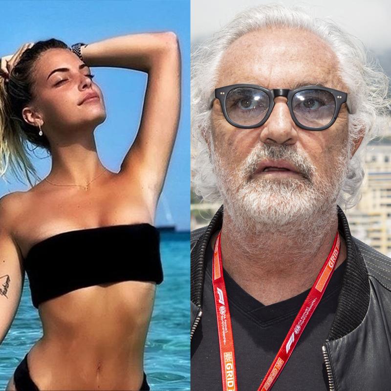 """""""Cum poți fi cu cineva care arată ca un bunic pe lângă tine?"""". Replica genială dată de noua iubită a lui Flavio Briatore"""